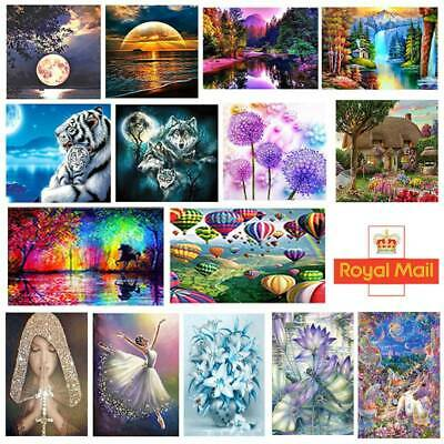 5D Diamond Painting Embroidery Cross Craft Stitch Arts Kit Mural Blendent UK • 4.95£