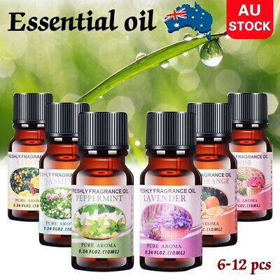 AU19.86 • Buy 12x Essential Oils 100% Pure & Natural Aromatherapy Diffuser Essential Oil Set