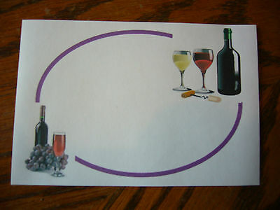 30  Wine Bottle Labels For Home Made Wine (self Adhesive). • 3£