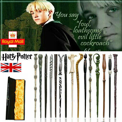 14 Harry Potter Magic Wand Boxed Hermione Dumbledore Voldemort Wand Cosplay • 6.98£