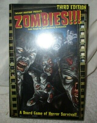 Zombies Board Game Third Edition • 28£