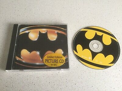 Prince  -  Batman  -  Ltd Picture Cd Album On Warners Label From 1989 • 5£