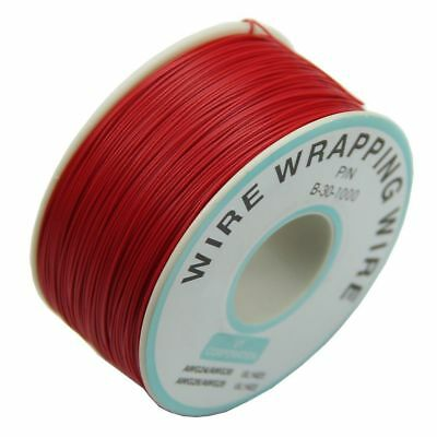 AU8.71 • Buy 0.25mm Wire-Wrapping Wire 30AWG Cable 305m New (Red)  SH