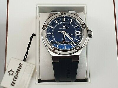 Eterna Kontiki Royal GMT, Ref. 7740.40.41.1289, Bought July 2020, IMMACULATE • 1,200£