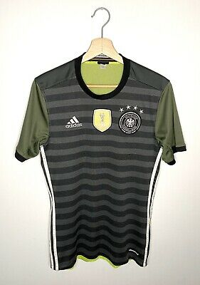Germany National Football 2016-17 Away Reversible Shirt Jersey Soccer Adidas SzS • 8.90£
