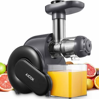 £100.99 • Buy Juicer Machine, Aicok Slow Masticating Juicer With Reverse Function, Cold Press
