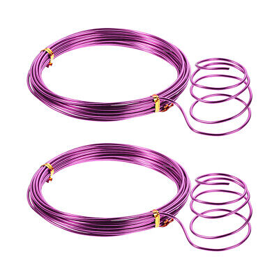 $ CDN14.81 • Buy Aluminum Wire 16 Feet 2mm Dia. Flexible Metal Wire Red For DIY Arts Crafts 2 Pcs