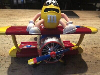 $39.99 • Buy VTG M & M's Collectible Airplane Candy Dispenser RARE!!!!
