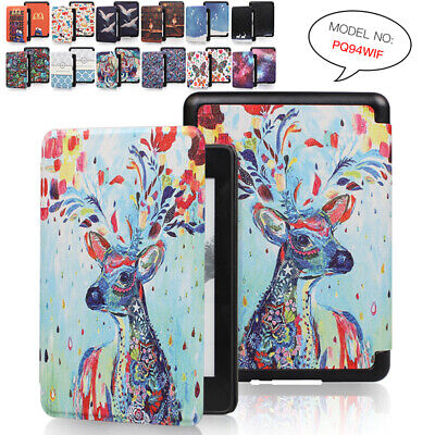 Popular Painted Auto/Sleep Flip Case Cover For 2018 Kindle Paperwhite 4 10th Gen • 6.59£