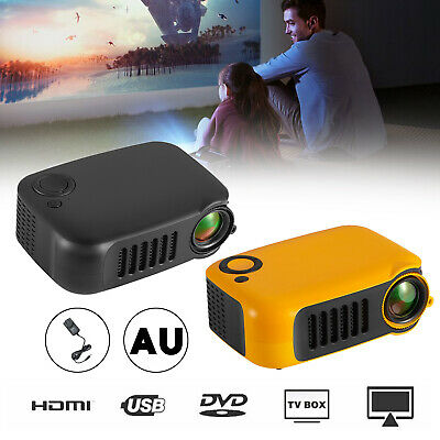 AU103.39 • Buy A2000 Mini Portable Projector LCD 800 Lumen Projectors Home Theater HDMI AU Plug