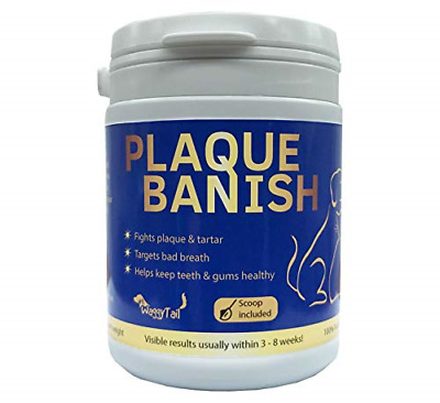 Plaque Banish 100% Natural Plaque Off & Tartar Remover For Dogs & Cats | Freshen • 10.49£