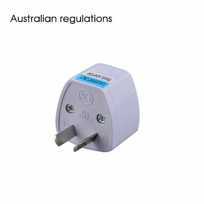 AU10.99 • Buy 5x Usa Eu Euro Asia To Au Aus Aust Australian Power Plugs Travel Adapter Seller