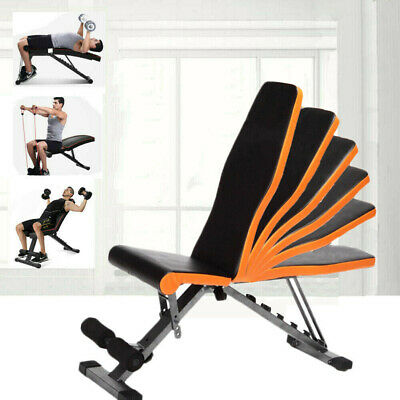 £56.61 • Buy Foldable Weight Bench Adjustable Fitness Press Lifting Home Gym Exercise Bench