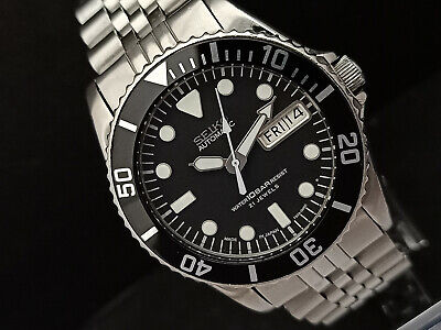 $ CDN129.18 • Buy Seiko Diver 7s26-0050 Skx023j Submariner 10 Bar Resist Automatic Watch 673876
