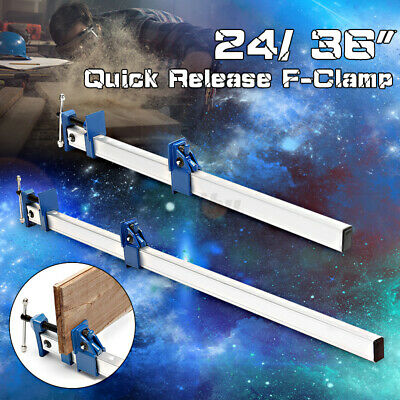 AU28.37 • Buy Fit For Woodworking Tool 36'' Quick Release Fix DIY Heavy F-Clamp Bar Clamp AU