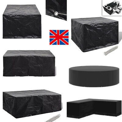 Heavy Duty Garden Patio Furniture Table Cover For Rattan Table Cube Set Outdoor • 13.05£