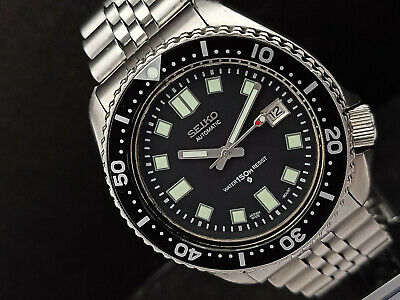 $ CDN129.18 • Buy Seiko Diver 6309-729a 6105 Face Mod Automatic Mens Watch 660928