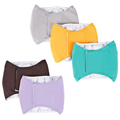 Male Dog Puppy Belly Wrap Band Nappy Diaper Sanitary Holder Pants Underpants 7A • 5.50£