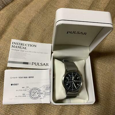 $ CDN280.80 • Buy Pulsar Watches Chronograph Military Seiko Pulser Watch From Japan 5