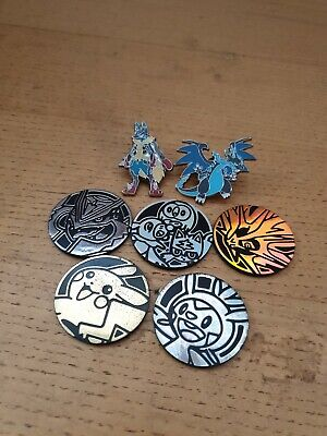 Pokemon Pin Badges And Coins Bundle • 0.99£