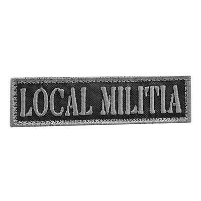 $7.95 • Buy Local Militia Subdued Embroidered Revolution Morale America Hook&loop Cap Patch