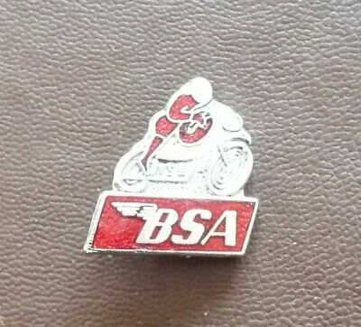 BSA Motor Cycle Enamel Badge • 4.99£