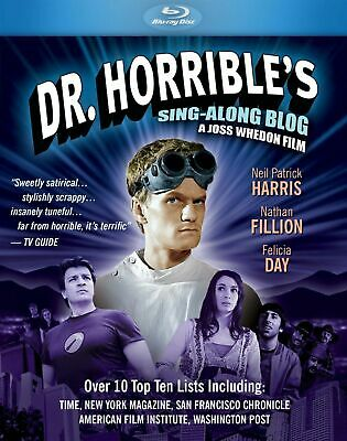 Dr Horrible's Sing Along Blog -  Blu Ray -  New & Sealed - Region Free • 14.99£