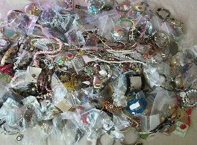 $ CDN21.09 • Buy Vintage To Modern Jewelry Box Lot-300 Pcs-17.5 LB, Necklaces & MORE, Unsearched