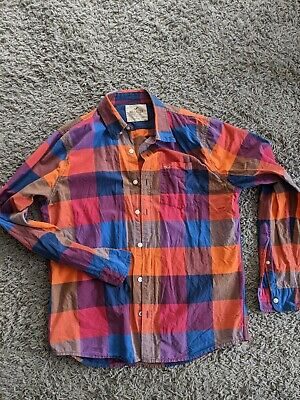 Mens Hollister Checked Shirt, Size Large • 1.50£