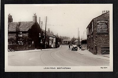 £11.50 • Buy Boothstown Near Salford - Leigh Road - Real Photographic Postcard