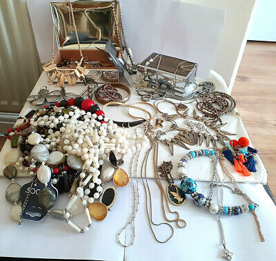 Joblot, Mixed Lot, Costume Jewellery & Jewellery Box • 5£