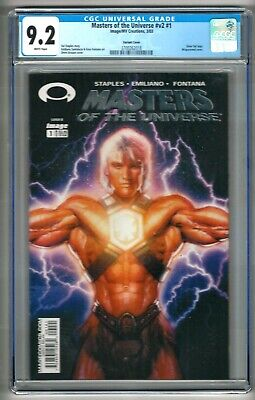 $49.99 • Buy Masters Of The Universe #v2 #1 (2003) CGC 9.2  White Pages  Variant Cover