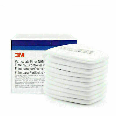 AU19.69 • Buy 10Pcs/Pack 5N11 Cotton Filter Replaceable Filters For 6200/7502/6800 Respirator