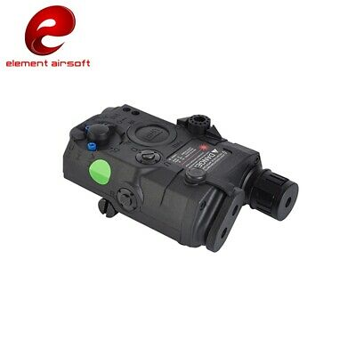 Tactical PEQ-15 UHP Green Laser + LED White Flashlight Airsoft Torch W/ IR Lens • 38.59£