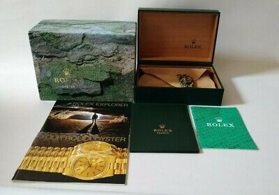$ CDN158.18 • Buy GENUINE ROLEX Explorer 114270 Watch Box Case 68.00.08/917703001