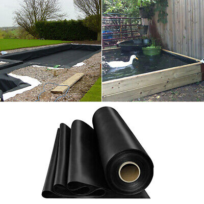 Heavy Duty 200gsm Garden Fish Pond Liners Liner Pool HDPE Membrane Reinforced UK • 13.99£