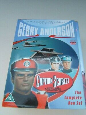 Captain Scarlet 5 Disc DVD Supermarionation Collection • 15£