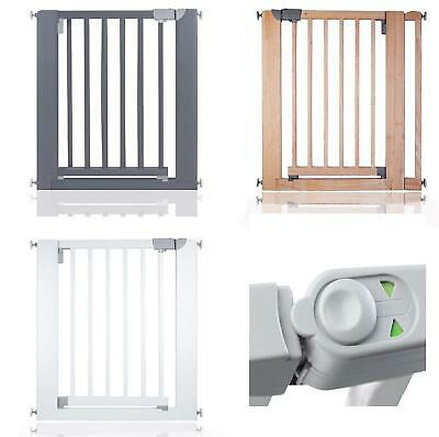 Safetots Premier Wooden Pressure Fit Safety 74cm - 97cm Baby Gate • 47.90£