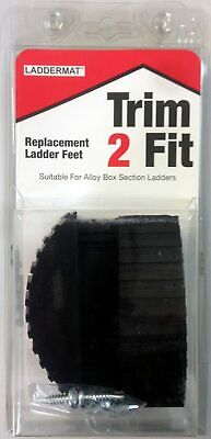 2 X UNIVERSAL Rubber Feet For Suitable For Abru, Werner, Zarges, Lyte, Youngman  • 9.65£