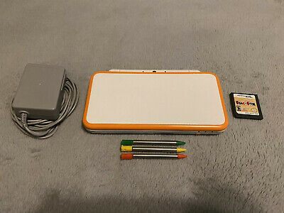 $ CDN150 • Buy Nintendo 2DS XL White & Orange + Charger And Game