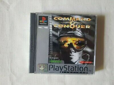 AU45 • Buy Sony Playstation 1 Game PS1 Command And Conquer Free Tracked Post Aus Seller M