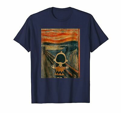 $ CDN26.23 • Buy Charlie Scream Artsy T-Shirt Funny Cotton Tee Vintage Gift For Men Women