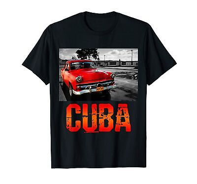 $ CDN16.21 • Buy Vintage Distressed Cuba Havana T-Shirt T-Shirt Funny Cotton Tee Gift Men