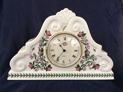 "Portmeirion Botanic Garden Mantle Clock - Large 8"" • 70£"