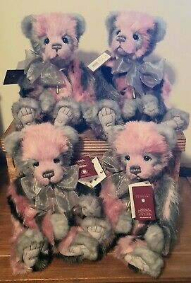 CHARLIE BEARS CARA PANDA PINK 2019 Folklores And Fables Collection NEW REC POST • 90£
