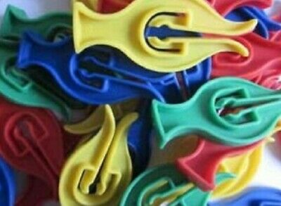 50 Cyclone Clothes Pegs ,  For Windy Washing Lines Plastic • 3.99£
