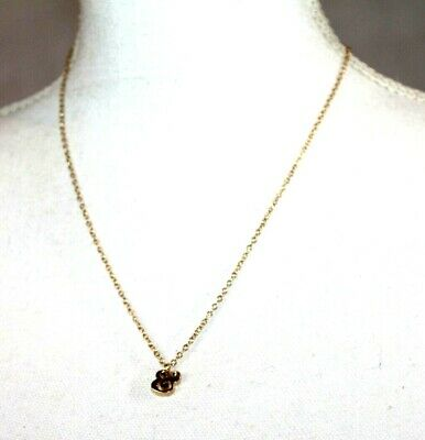 $ CDN3.15 • Buy Kate Spade New York Necklaces Gold Plated  Bold Initial & Crystal Pendant