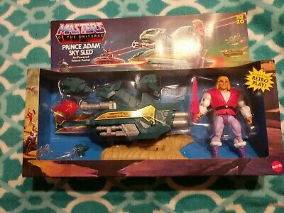 $29 • Buy Masters Of The Universe Origins PRINCE ADAM SKY SLED Mattel New For 2020 Walmart