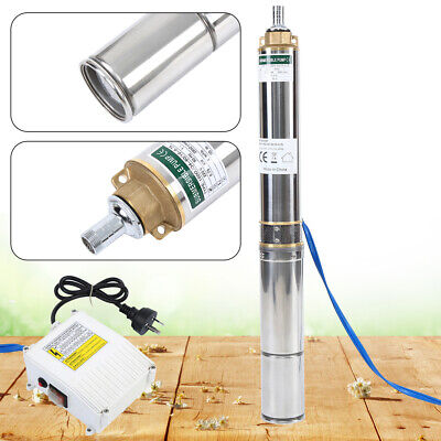 AU170.99 • Buy 1HP 4  Submersible Bore Water Pump Well Irrigation Stainless Steel 4000L/h 750W