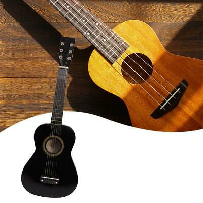 Wooden Acoustic Guitar Pick Strings For Kids Children Beginners Practice Gifts • 15.09£